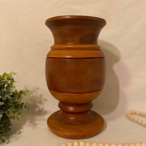 Accents - Hand turned wood vase